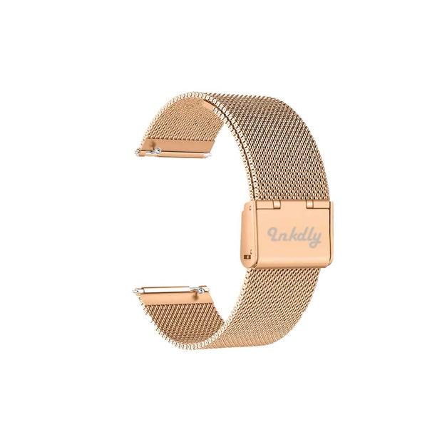 Mobile Mob Milanese Fitbit Versa & 2 Band Replacement Quick Release Traditional Rose Gold