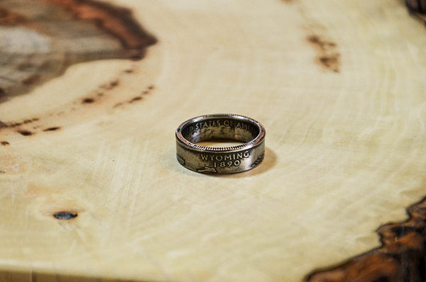 How to make a coin ring / Handmade ring instruction / Father's days contest