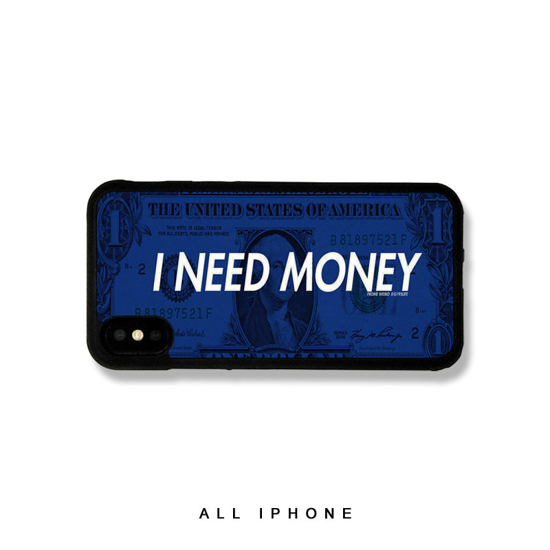 I Need Money iPhone Case - Small Brands