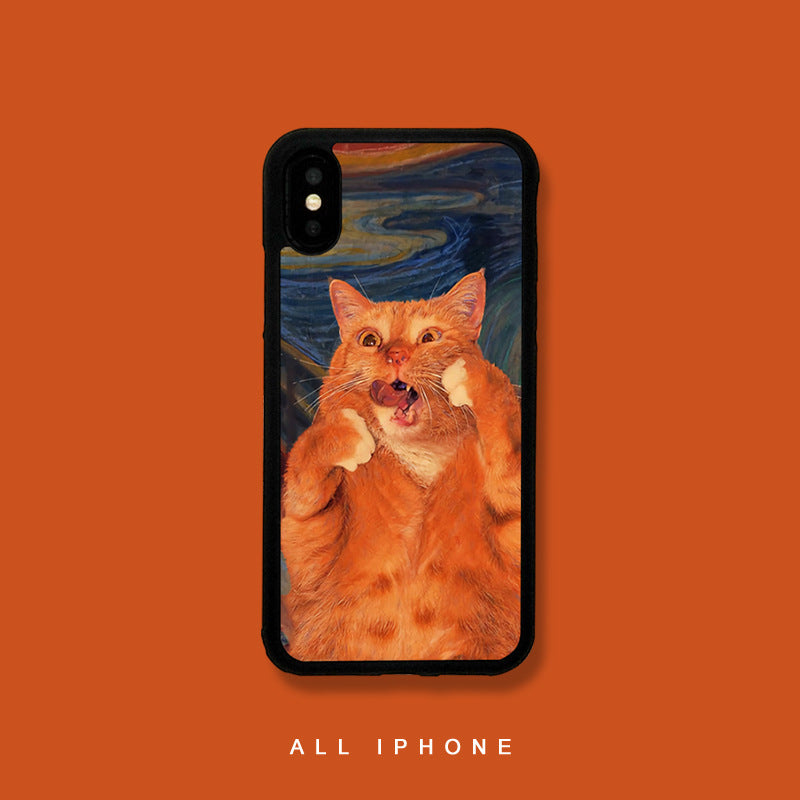 Cat Captured iPhone Case - Small Brands