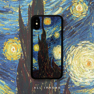 The Starry Night iPhone Case - milkCases