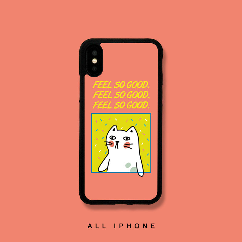 Feel So Good iPhone Case - Small Brands