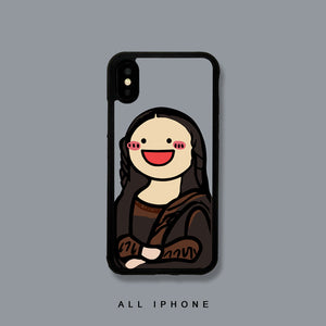 Mona Lisa iPhone Case - milkCases