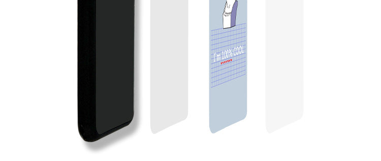 I'm 100% Cool iPhone Case - Small Brands