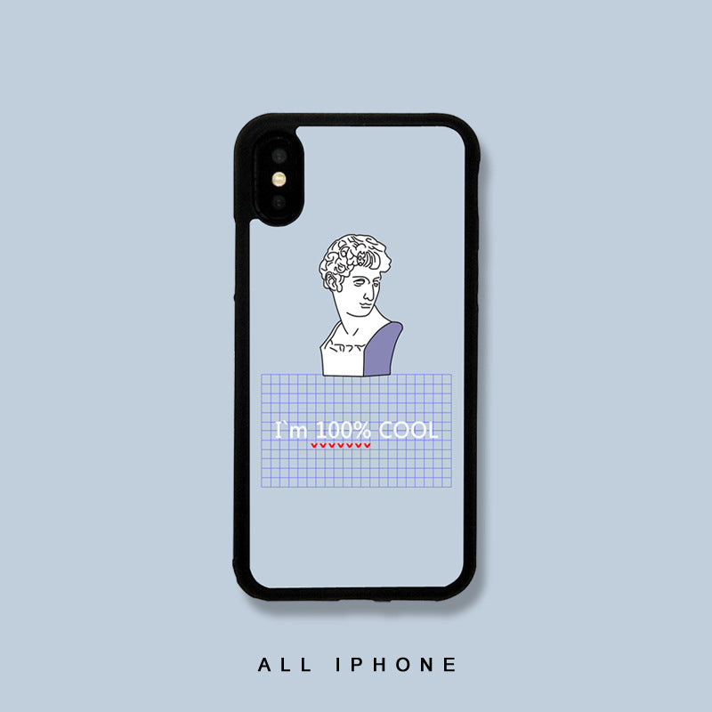 I'm 100% Cool iPhone Case - milkCases