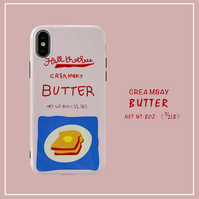 Creambay Butter IPhone Cases - milkCases