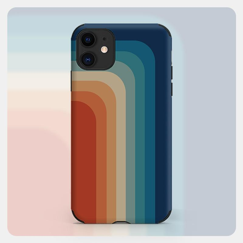 Rainbow Pure Silicon iPhone Case | 3 Style Options - milkCases