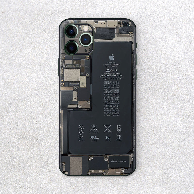 iPhone 11 Pro Teardown iPhone Stickers - milkCases