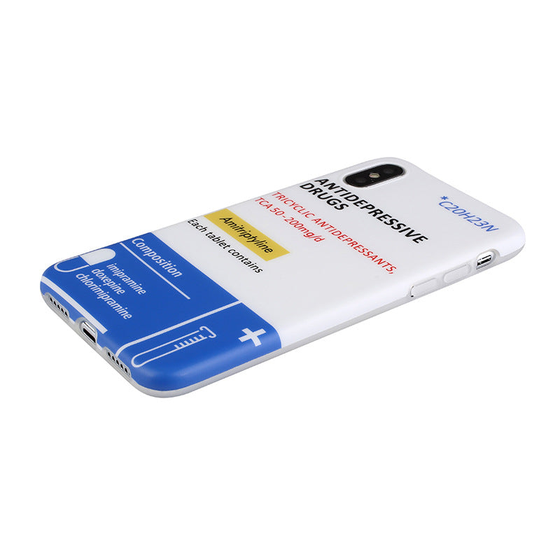 Anti Depressive Drugs iPhone Cases - Small Brands