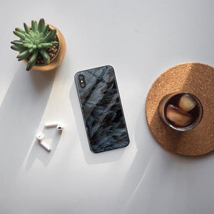 Feather iPhone Cases | Glass - milkCases