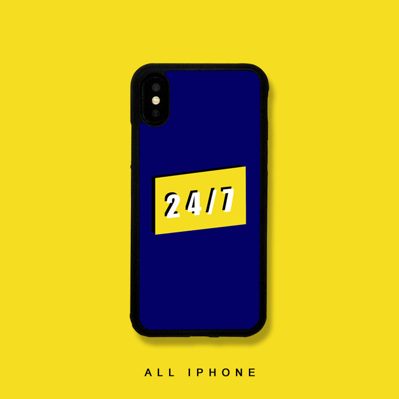 7 x 24 iPhone Case - Small Brands