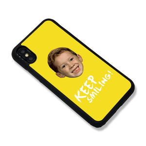 Keep Smiling iPhone Case - milkCases