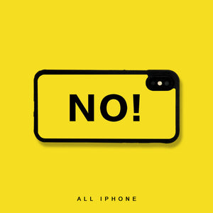 No iPhone Case - milkCases