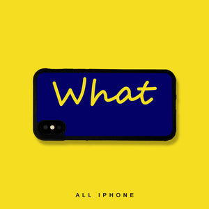 What iPhone Case - milkCases
