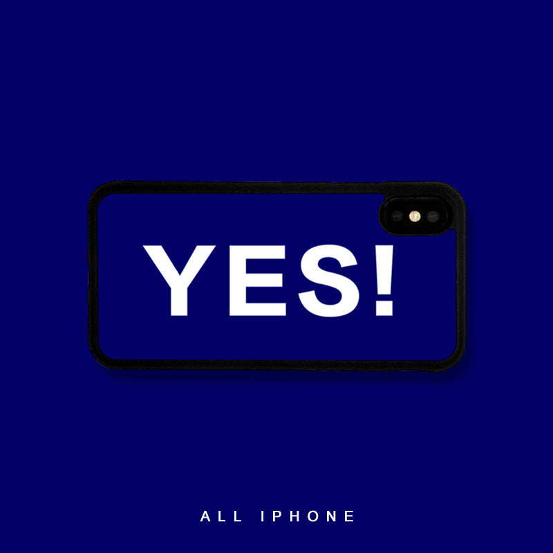 Yes iPhone Case - milkCases