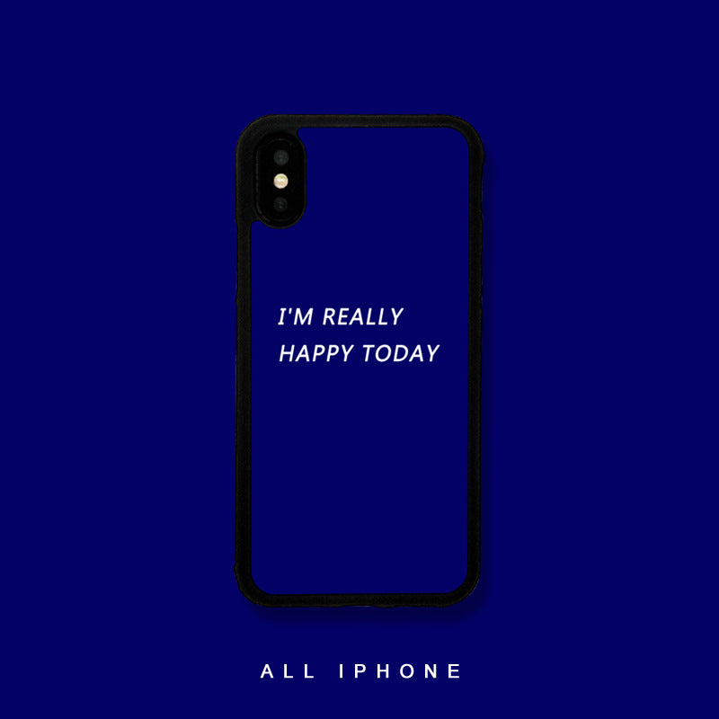 I'm Really Happy Today iPhone Case - Small Brands