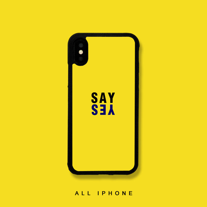 Say Yes iPhone Case - Small Brands