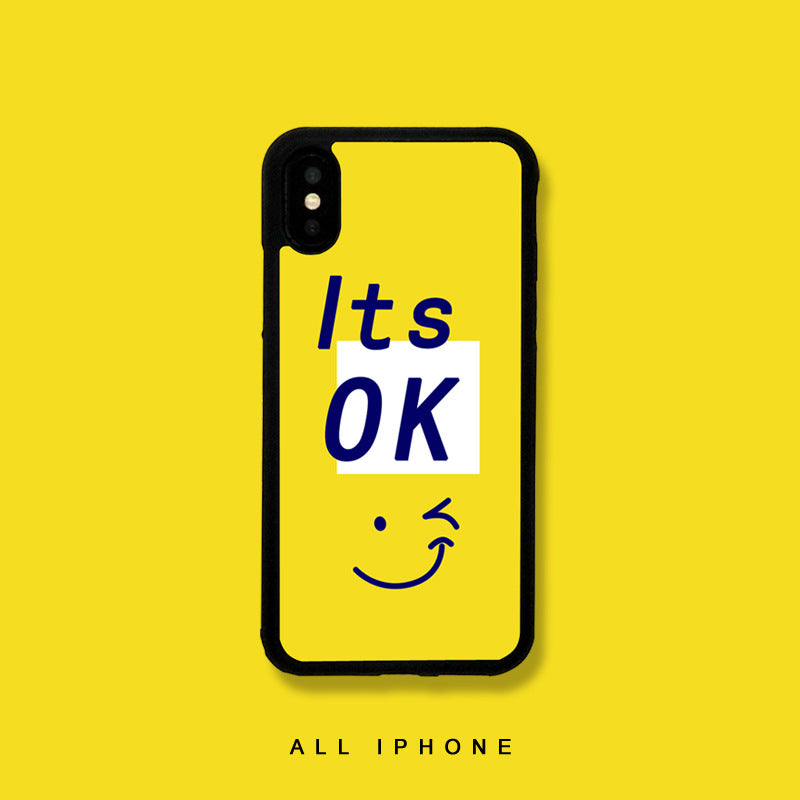 It's OK iPhone Case - milkCases
