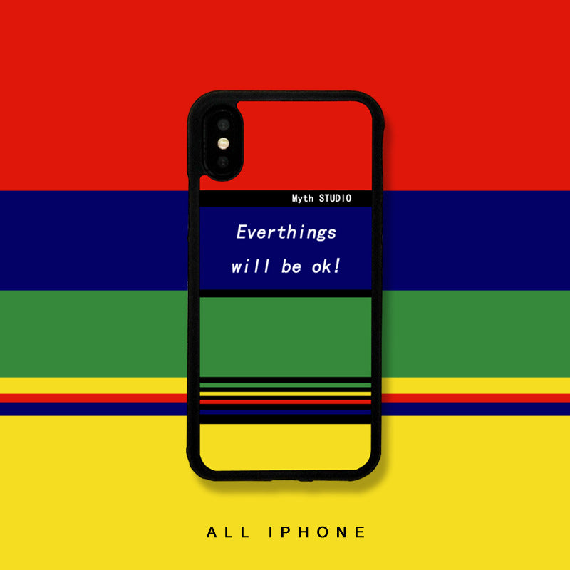 Everything Will Be OK iPhone Case - Small Brands
