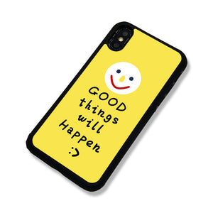 Good Things Will Happen iPhone Cases - milkCases