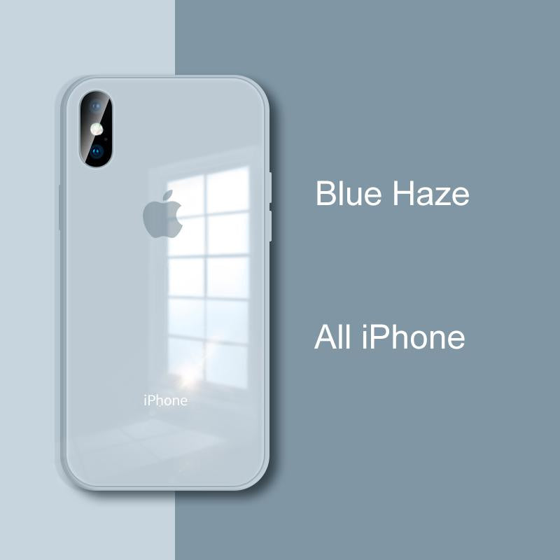 Blue Haze iPhone Cases | Glass - milkCases