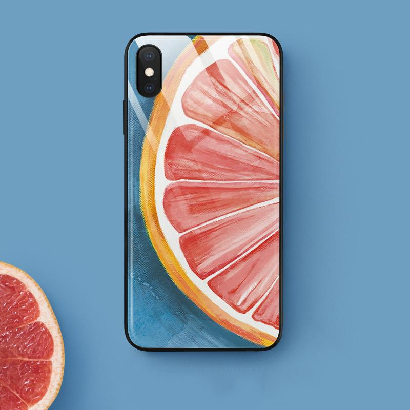Grape Fruit iPhone Cases | Glass - milkCases