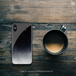 Lonely Night iPhone Cases | Glass - milkCases