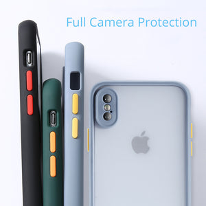 Candy iPhone Cases Matter Clear | 8 Color Options - milkCases