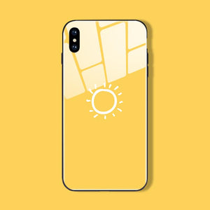 Sunny Mood iPhone Cases | Glass - milkCases