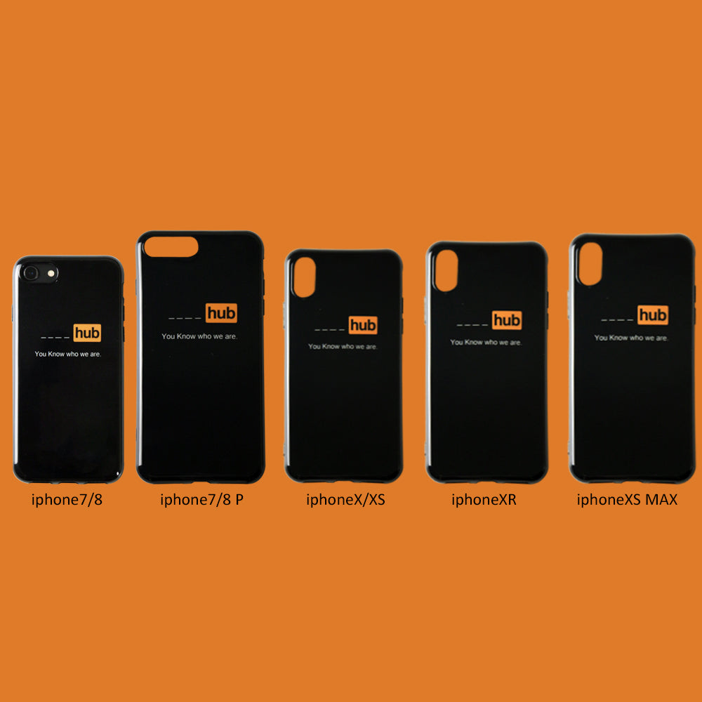 You Know Who We Are IPhone Cases - Small Brands