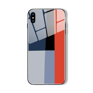 Colorblock iPhone Cases | Glass - milkCases