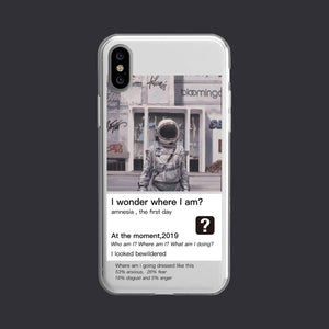 Where I am iPhone Cases | Silicon Cases | Painting - milkCases