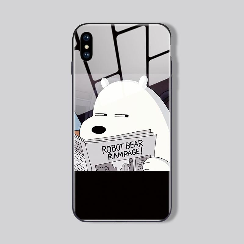 Thug Bear iPhone Cases | Glass - milkCases