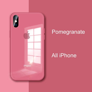 Glass iPhone Cases | 7 Color Options - milkCases