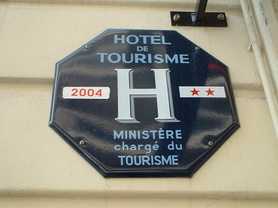 hotel-sign-france Black Magic! Phono-Semantic Chinese Characters