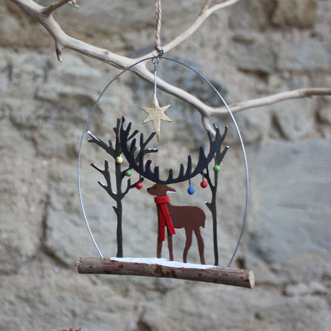 Bauble Stag