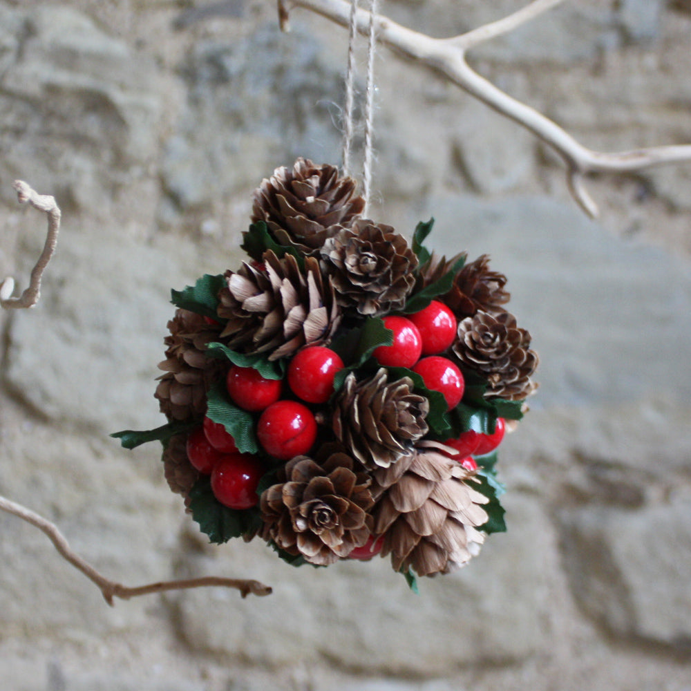 Cone Berry Bauble