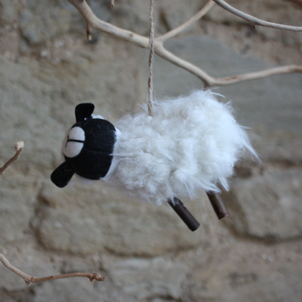 Sheep With Hat