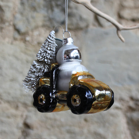 Outer Space Astronaut Explorer Bauble