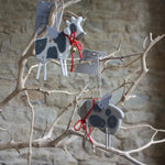 Load image into Gallery viewer, Wooden Farmyard Animals with Tin Wings