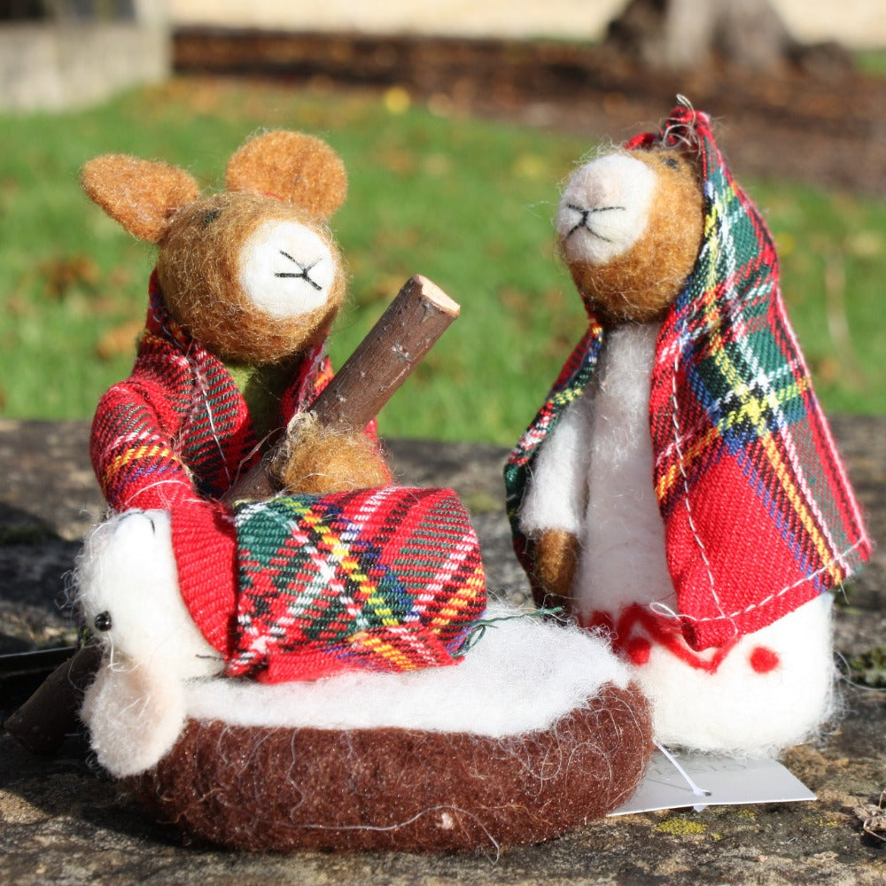 Tartan Mice Nativity