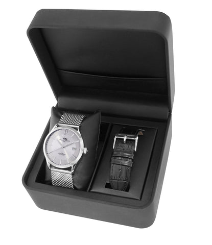 BWG30090-204 William Gregor Watch Set - Silver Dial