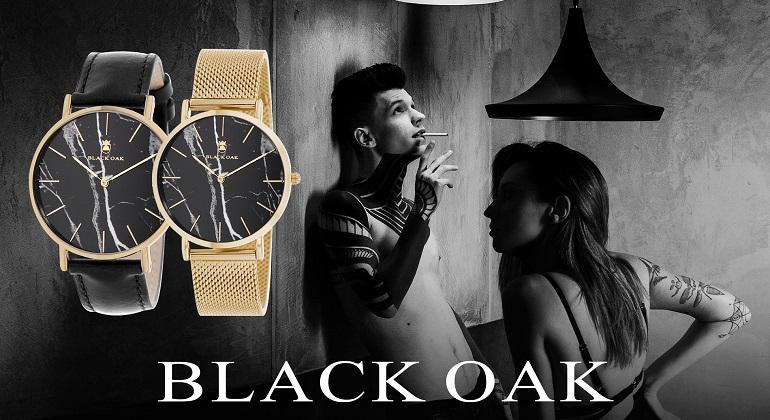 black oak watches for men and women