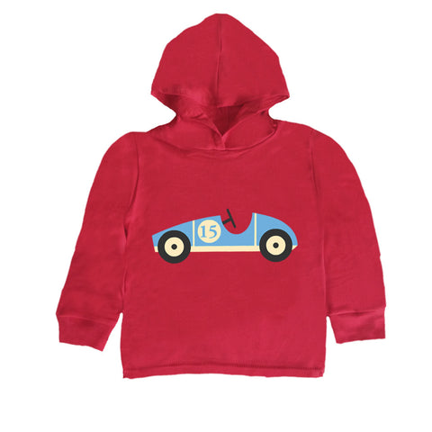 Baby-Toddler Racing Car Hoodie T Shirt