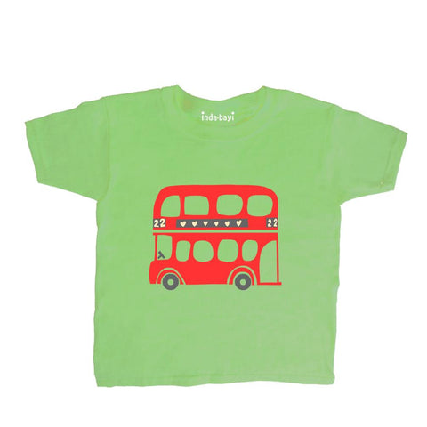 Baby-Toddler London Bus T Shirt