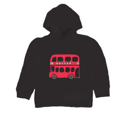 Baby-Toddler London Bus Hoodie T Shirt
