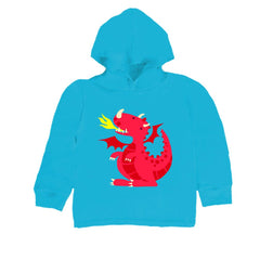 Kids Red Dragon Hoodie T Shirt