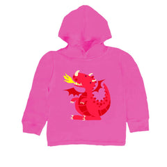 Baby-Toddler Red Dragon Hoodie T Shirt