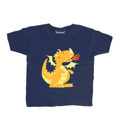 Kids Gold Dragon T Shirt