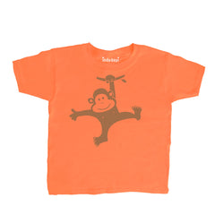 Baby-Toddler Monkey Swinging T Shirt